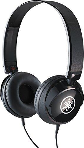 yamaha HPH-50B Cuffie Sovraurali, Cuffia On Ear con Meccanismo Girevole 90°, Semplice e Compatta, Suono Livello Professionale, Adatte per Strumenti Musicali Digitali, Nero, UNICA FBA_HPH50B