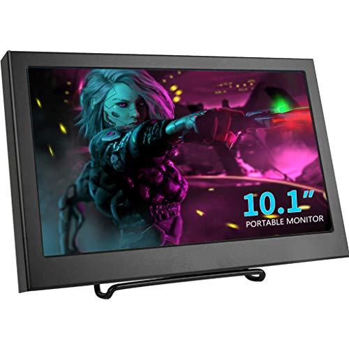 13.3' Monitor portatile, Kenowa USB-C Sottile Display LED FULL HD 1920 * 1080,con Porta (Dual Type-C,Dual USB,HDMI,cuffie) per PC TV Window 7 8 10 PS3 PS4 Laptop Computer copia o estendi schermo