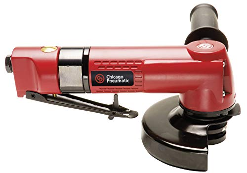 Chicago Pneumatic CP9121BR Heavy Duty Angle Grinder with 5-Inch Wheel Capacity, 5/8-Inch 11 Spindle Thread