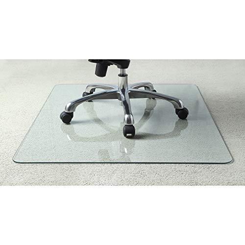 Lorell Tempered Glass Chair Mat, 36'
