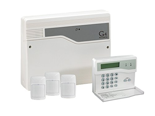 Accenta Mini GEN4 Wired Control Panel with LCD Keypad & Pet Tolerant PIR Kit HWAMGLCD3A8P