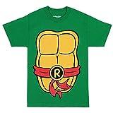 Teenage Mutant Ninja Turtles TMNT Raphael Costume T-Shirt-Large