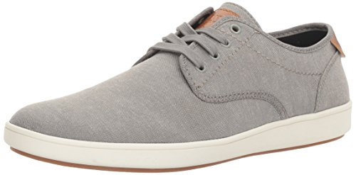 Steve Madden mens Fenta Fashion Sneaker, Grey Fabric, 10.5 US