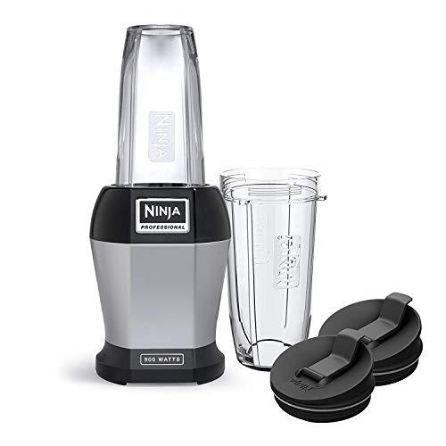 Nutri Ninja Pro BL450 Blender 900 Watts, Black (Renewed)