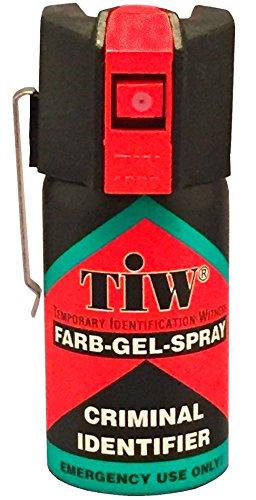 Spray De Défense Tiw Farb-Gel 40 Ml Version Clapet Ou Clip
