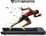 CITYSPORTS Tapis de Course Electrique Moteur 440W, Bluetooth Haut-parleurs...