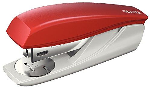 LEITZ 5501 cucitrice da tavolo NeXXt Series - 25fg - punto n 24/6 e 26/6 - Rosso - 55010025
