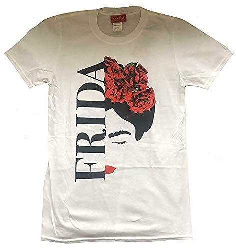 Frida Kahlo - Silueta - Oficial T Shirt - Blanco, 12-14