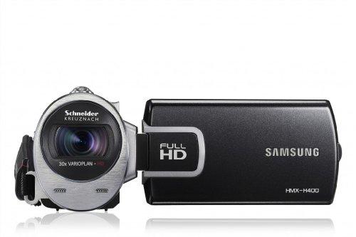 Samsung HMX-H400BP Videocamera Full HD, 5 Megapixel, Zoom Ottico 30x, Disply LCD da 7,6 cm (3,0...