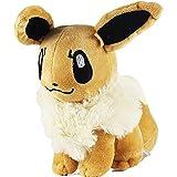 Ibrahimovic Pokémon Evoli Pikachu Leafeon Espeon Umbreon Vaporeon Flareon Glaceon Jolteon - Muñeco de peluche relleno, 18 cm