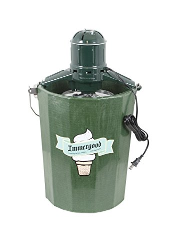 Electric - 6 qt. - Old Fashioned Ice Cream Maker w/Motor