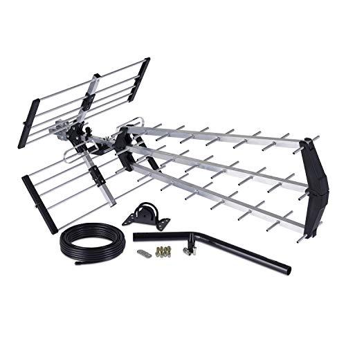 Loft & Outdoor Digital TV Aerial, SSL 4G Filtered 70 Element Aerial for Digital TV With Full Kit High Performance