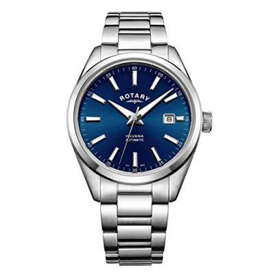 Havana Mens Analog Quartz Watch with Stainless Steel Bracelet GB05077/05