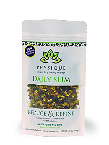 Herbal Tea Weight Loss Cleanse: Daily Slim Detox Tea for Natural Weight Loss - Slimming Diet Aid Tea with Appetite Suppressant - Metabolism Booster and Fat Burning Supplement -Over 150 Servings - 8 oz 1