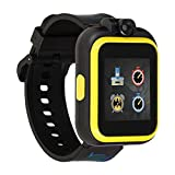 iTouch Wearables Batman Official Smartwatch for Kids by PlayZoom - Swivel Camera with Video Record, Educational Games and Activities, Alarm, Calendar, Stopwatch, and Camera Remote (Yellow)
