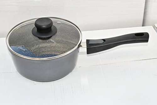 2016 Germany's Stoneline Xtreme Series 2.3 Quart Sauce Pan with Lid, Non-stick, Non-Toxic Stone Coating Cookware - 2016 Top of the line model, better taste food, induction ready