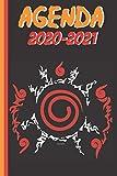 | Thème Manga Agenda 2020-2021: Thème Manga - Ninja - Scellement - Agenda Scolaire 2020...