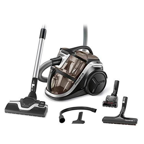 Rowenta RO8388 Silence Force Multi-Cyclonic, beutelloser Boden-Staubsauger, vacuum-cleaner, inkl. Mini-Turbodüse für Tierhaare, hohe Saugleistung ohne Beutel