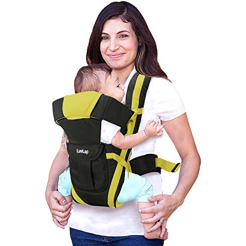 LuvLap Elegant Baby Carrier with 4 carry positions, for 4 to 24 months baby, Max weight Up to 15 Kgs...