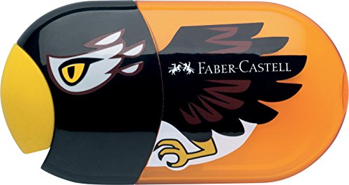 Faber-Castell 183527 - Doppelspitzdose Adler Inklusiv Radierer