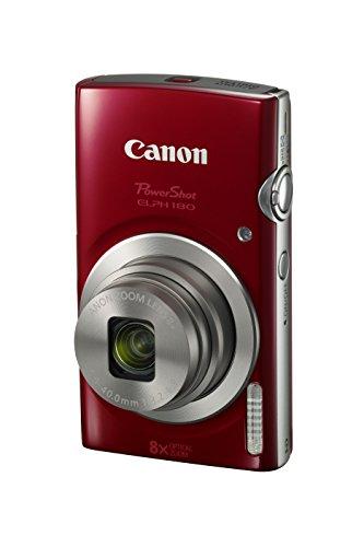 Canon PowerShot ELPH 180 Digital Camera w/Image Stabilization and...
