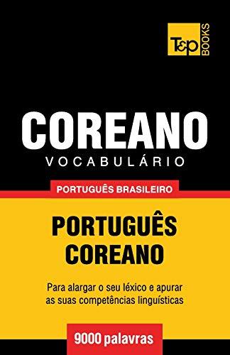 Từ vựng tiếng Bồ Đào Nha-Hàn Quốc của Brazil - 9000 từ