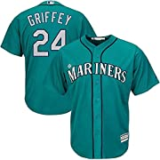 Officially Licensed Product Embroidered Team Logo on Front - Screen Printed Name & Number on Back 100% Polyester - Machine Washable Cool Base technology is made with interlocking moisture-wicking fabric for a lightweight, breathable feel MLB Batterma...
