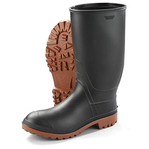 Kamik Men's Ranger Rubber Boots, Black, 13D (Medium)