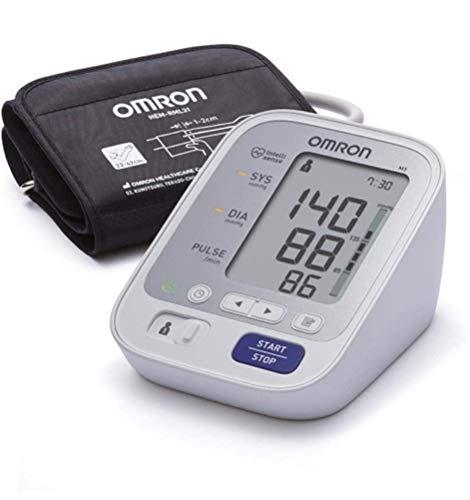OMRON M3 Misuratore Pressione Sanguigna da Braccio, Bracciale 22-42 cm, Validato Clinicamente,...