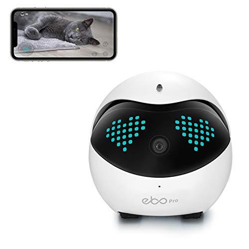 Enabot Ebo Pro Fernbeweglicher intelligenter Roboter, interaktiver KI-Roboter, intelligente Haustierkamera, Familienmonitor, Überwachungskamera, Petpal
