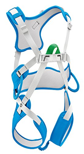 PETZL Kinder ouistitiharness Klettergurt, methylblau,...