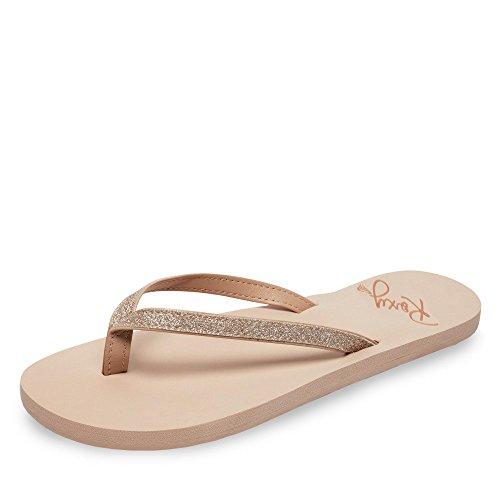 Roxy Napili II, Zapatos de Playa y Piscina Mujer, Beige (Beige/(Ta1 Tan 1) Ta1), 36 EU
