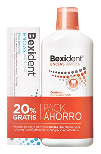 Bexident Encías Pack Colutorio Clorhexidina 500ml+Pasta 75m