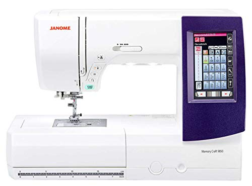 Product Image 1: Janome MC9850 Embroidery and Sewing Machine