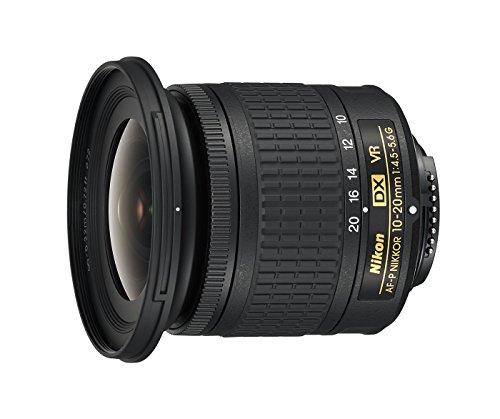 Nikon AF-P DX 10-20 mm f/4.5-5.6G VR Obiettivo, Nero [Versione EU]