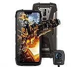 telephone portable incassable (Caméra de vision nocturne )Blackview BV9700 Pro – Smartphone étanche IP68 5,9''FHD +, Helio P70 Octa 6GB + 128Go Android 9.0, moniteur et moniteur de fréquence cardiaque