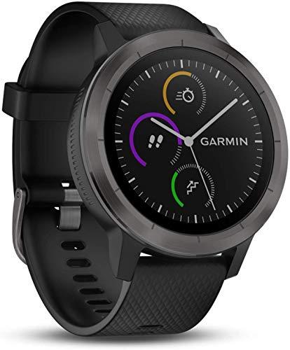 Garmin Vivoactive 3 Smartwatch con GPS, Unisex adulto, Grigio