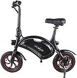 Windgoo Bicicleta Electrica 36V Plegable - E-Bike 12', Actualizar Bici Electrica Urbana Ligera para...