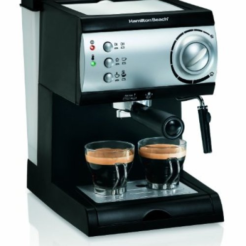 Hamilton Beach Espresso Machine with Steamer