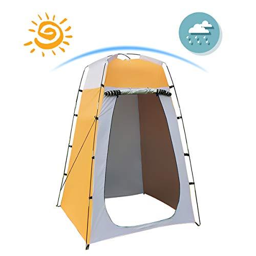 Qdreclod Camping Duschzelt Tragbar Umkleidezelt...