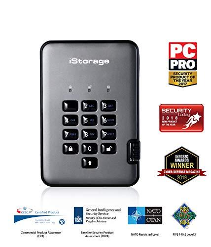 iStorage diskAshur PRO2 SSD 1TB   Disco Duro de Estado Sólido  ...