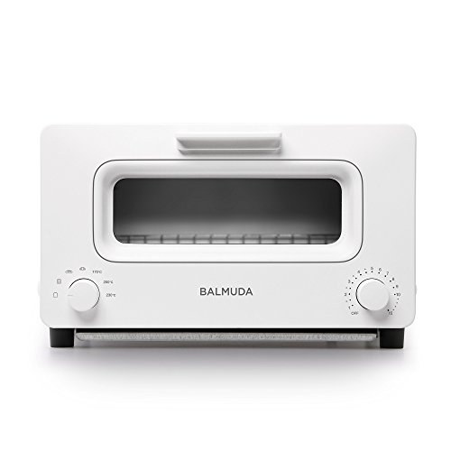 "BALMUDA Steam toaster oven""BALMUDA The Toaster"" K01E-WS (White)【Japan Domestic genuine products】"