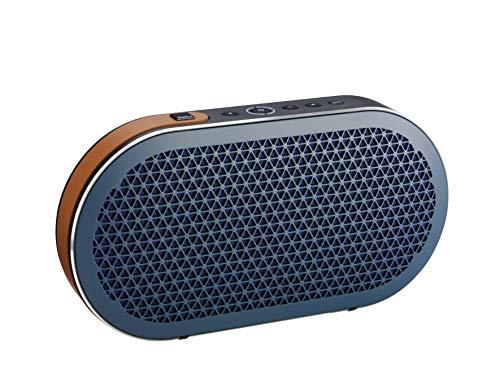 Dali - Katch Portable Bluetooth Lautsprecher - Kompakt - Akku-Spielzeit: 24 Stunden - Maximaler Schalldruckpegel: 95 dB - Aluminium-Konus mit Stoff-Staubschutzkappe - Farbe: Dark Shadow