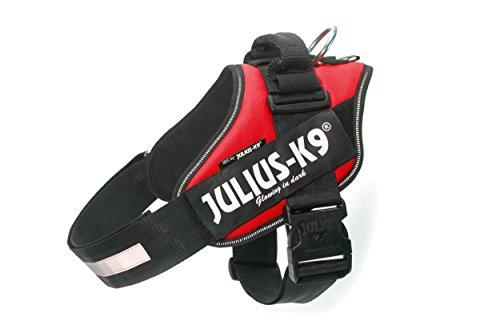 Julius-K9 IDC, Pettorina per cani piccoli, Taglia 2, Rosso