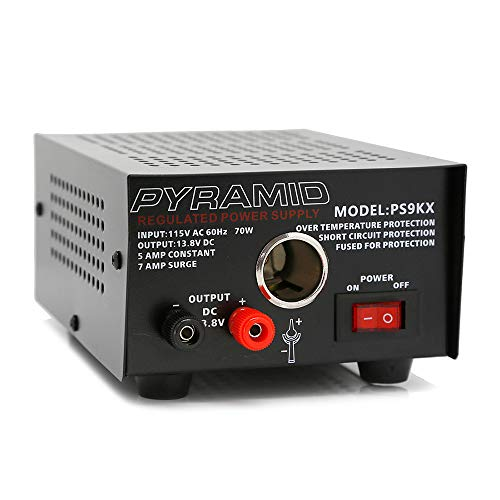 Pyramid PS9KX Universal Compact Bench Power Supply-5 Amp...