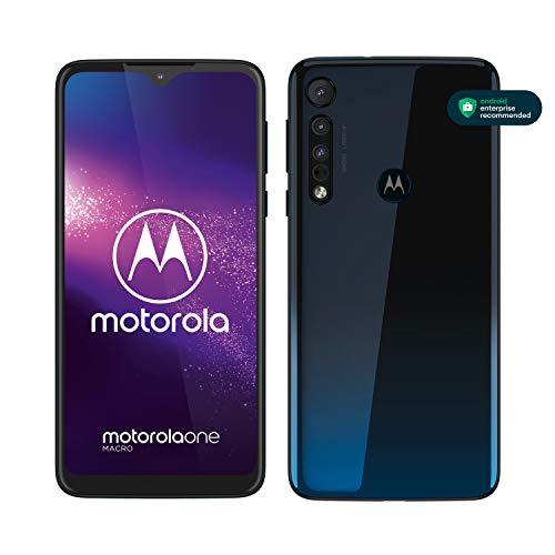 Motorola One Macro Smartphone Dual-SIM (Pantalla 6,2'-Max Vision-HD+,...
