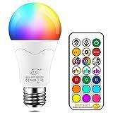 iLC 85W Équivalent Ampoule Led Couleur Changement de couleur Dimmable E27...