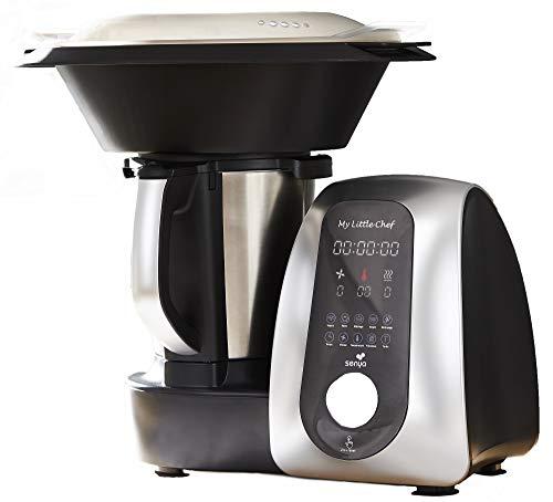 Senya robot dea cucina multifunzione My Little Chef, 13 programmi automatici 10 velocit, sito dedicato alle ricette, bilancia da cucina in dotazione, ciotola Inox, 1700W