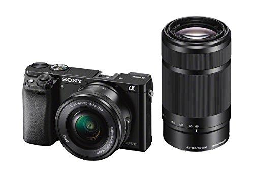 Sony A6000 - Cámara EVIL de 24 Mp (pantalla LCD 3', estabilizador...