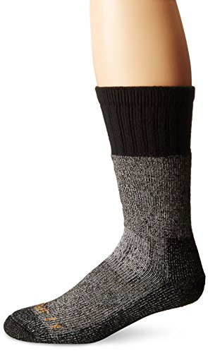 Carhartt Men's Force Extremes Crew Socks, BlackHeather, Shoe Size: 5-10